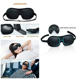 Sleep Eye Mask 3D Contoured Sleeping Masks Eyes Cover Adjust