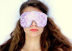 Sleep Eye Mask Handmade by Candi Andi - Adjustable Strap - T