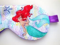 Sleep Eye Mask Little Mermaid Disney Ariel Blindfold Night S