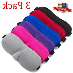Sleep Eye Mask Travel 3D Soft Padded Face Shade Cover Rest S