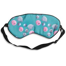 Longnankejilifeaa Sleep Eyes Mask Covers Blueberry Fruit Pat