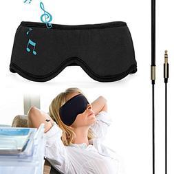 Sleepace Sleep Headphones Comfortable Washable Eye Mask w' B