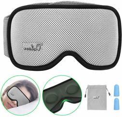 Sleep Mask, Voluex 3D Contoured Sleeping Eye Mask & Blindfol