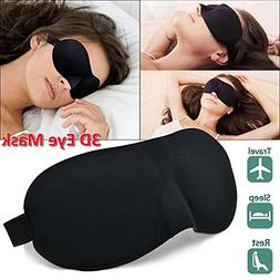 Sleep Mask - Eye Mask for Sleeping - Contoured Breathable Co