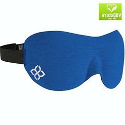 Sleep Mask Comfortable With Moldex Ear Plug Set Carry Pouch