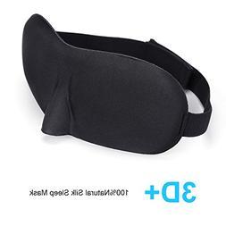 Sleep Mask  Eye Mask for Sleeping, Contoured Comfortable Lig