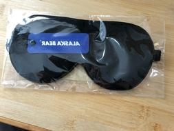 Sleep Mask Eye Mask Black Out Soft Satin with Storage Bag