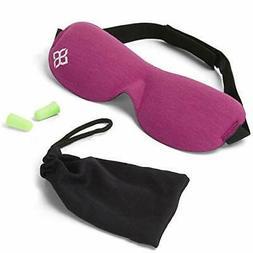 Sleep Mask Eye Sleeping Travel Blindfold Cover Shade Relax R