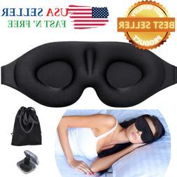 Sleep Mask for Men & Women,3D Soft Memory Foam Blockout Blin