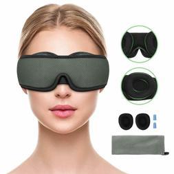 Sleep Mask For Men Women, Gozheec 3D Contoured Eye Mask For
