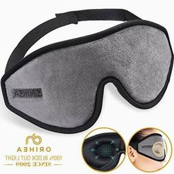 Sleep Mask for Women & Men, OriHea Upgraded 3D Contoured Eye