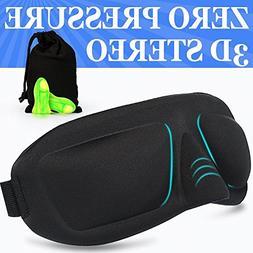Sleep Mask AMAZKER Lightweight Upgraded Contoured & Comafort