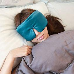 Sleep Mask Soft Travel Blindfold, Ragdoll50 Upgraded Silk Sl