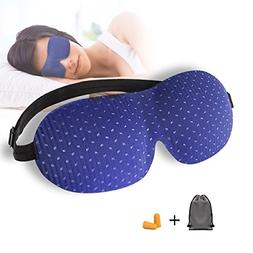 Sleep Mask, 3D Contoured Sleep Eye Mask, Comfortable & Super