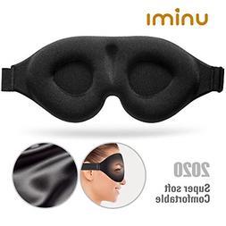 Sleep Mask,Unimi Upgrade 3D Contoured Cup Eye Mask & Blindfo