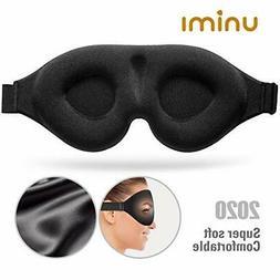 Sleep Mask,Unimi Upgrade 3D Contoured Cup Eye Mask &