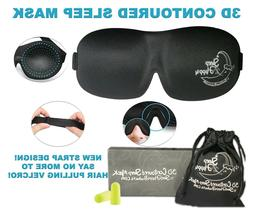Sleeping Mask 3D Contoured Sleep Mask for Women Men Blindfol