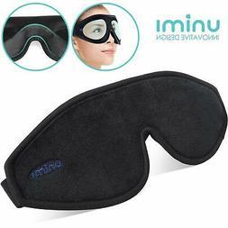 Unimi Sleeping Mask for Men Women Adjustable 3D Contoured Ey