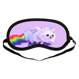 Sleeping Mask Unicorn, Sleep Blindfold, Pure Cotton Eye Mask