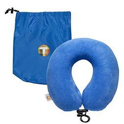 MOT Comfort 5-Piece Travel Sleeping Pillow Kit – Memory Fo