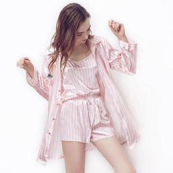 Sleepwear Women's 7 Pieces Pajamas Set Comfy Cami Pjs with S