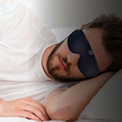 Smart Eye Mask Anti Snore Sleeping Stopper Aid Shade Cover R