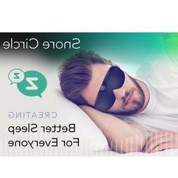 SNORE CIRCLE Anti Snore Eye Mask Sleeping Anti Snoring Aid C