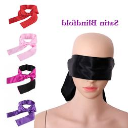 Cytherea Multicolor Satin Blindfold Eye Mask Couple Game Cos