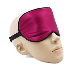 uxcell Soft Silk Travel Eye Mask Relax Eyes Pad Sleeping Sha