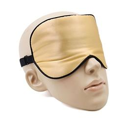 uxcell Soft Silk Travel Eye Mask Rest Relax Eyes Pad Sleepin