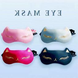 Soft Silk Travel Sleep Eye Mask Men&Women Sleeping Blindfold