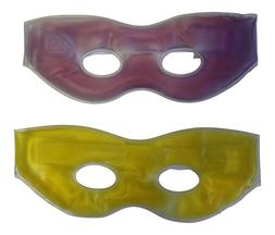 2 Pack Soothing Therapeutic Gel Eye Masks-Hot or Cold-With S