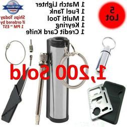 Permanent Striker Match Lighter Fire Starter Emergency Water
