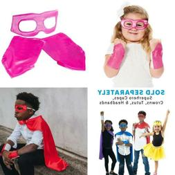 Everfan Superhero Eye Mask and Powerbands - Kids