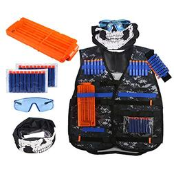 Tactical Vest Kit for Nerf Guns N-Strike Elite Series Camouf