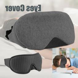Travel 3D Eye Mask Sleep Blindfold Sleep Soft Padded Shade R