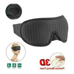 Travel 3D Eye Mask Sleep Soft Padded Shade Cover Rest Relax
