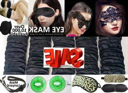 Travel Eye Mask Sleep Mask Soft Shade Cover Rest Relax Blind