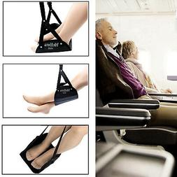 Travel Foot Hammock Rest with Eye Mask Combo for Airplane Ca