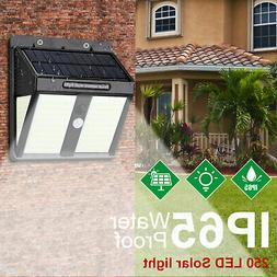 Outdoor LED Street Light Solar 6500K Dusk to Dawn Waterproof