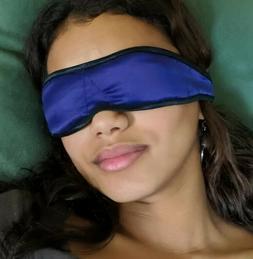 Petite Silk Eye Pillow Masks *Organic Lavender/Flaxseed-U.S.