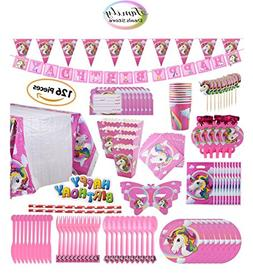 Family Deals Store Unicorn Party Pack Decorations Supplies 1