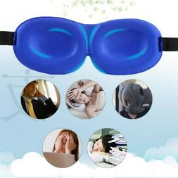 Unisex 3D Eye Mask Shade Cover Rest Sleep Eyepatch Blindfold