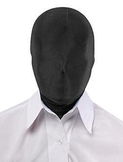 Seeksmile Unisex Lycra Spandex Full Cover Zentai Hood Mask