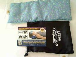 Savasana Now Unscented Eye Pillow with Carry Bag--brand new
