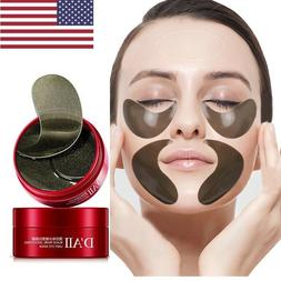 US Pearl Collagen Gel Eye Mask Patch Pad Anti Aging Puffines