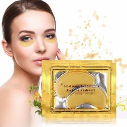 usa 24pcs gold hydrogel eye patch firming
