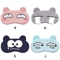 USA Cartoon Sleep Mask Eye Shade Cover For Girl Kid Teen Bli