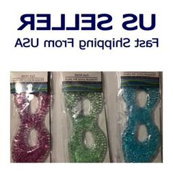USA SELLER- Gel Ice Eye Mask Cold Relieves Eye Stress & Redu