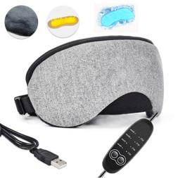 USB Heat Steam Cotton Eye Mask cool Temperature Control Dry